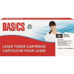 Basics® Laser Cartridges (Canon CRG104) Black