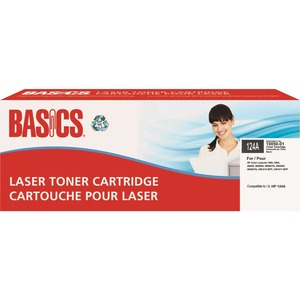 Basics® Laser Cartridges (HP LaserJet 124A) Black