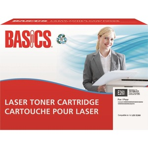Basics® Laser Cartridge (Lexmark® E260)