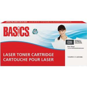 Basics® Laser Cartridges (Lexmark® E250A11A)