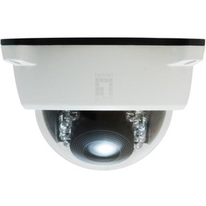 Levelone 2mp Outdoor Fixed Dome Camera / Mfr. No.: Fcs-3102