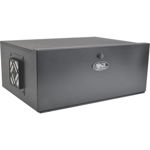 5u Security DVR Lockbox Rack Enclosure 60lb Capacity Black / Mfr. No.: SrDVRlb