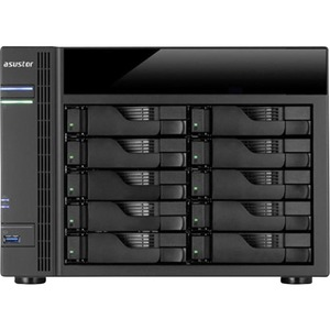 10bay NAS Tower Us 1gb Ddr3l / Mfr. No.: As5010t