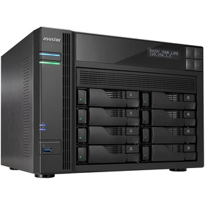 8bay NAS Tower Us 2gb Ddr3l / Mfr. No.: As5108t