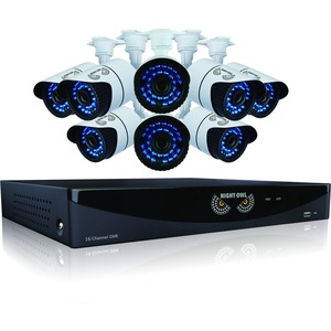 8/16ch 960h 1tb Hd W/HDMI 8x900tvl Cameras 100ft Nv / Mfr. No.: B-F900-161-8