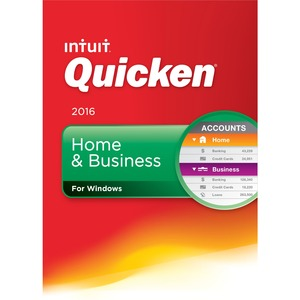 Quicken Home and Business 2016 . / Mfr. No.: 426750