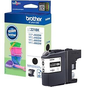 Encre Brother  Noire LC221BK - LC221BK