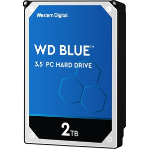 20pk 2tb Blue SATA 5400 RPM 64mb 6gb/S 3.5in PC Hard Drive / Mfr. No.: Wd20ezrz-20pk