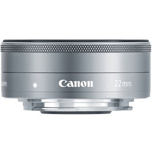Canon - 22 mm - f/2 - Fixed Focal Length Lens for Canon EF-M