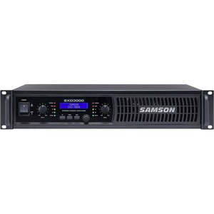 Samson SXD3000 - Power Amplifier with DSP
