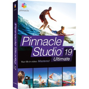 Pinnacle Studio 19 Ultimate / Mfr. No.: Pnst19ulenam