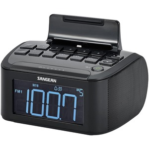 Am/Fm/Aux Clock Radio W/IPhone Dock / Mfr. No.: Rcr-28
