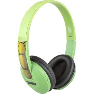 Sakar Kids Bluetooth Kids Safe Headphones Turtles / Mfr. No.: Hp2-06065