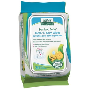 Bamboo Tooth N Gum Wipes 30ct / Mfr. No.: 37960