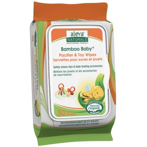 Bamboo Pacifier and Toy Wipes 30ct / Mfr. No.: 37948