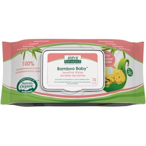 Bamboo Sensitive Wipes 72ct / Mfr. No.: 37945
