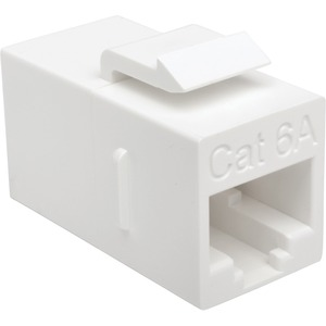 Cat6a Straight Through Modular In Line Snap In Coupler RJ45 F/ / Mfr. No.: Bhdbt-001-Ff