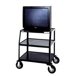Da-Lite PIXMate TV Cart With Cabinet And Shelf