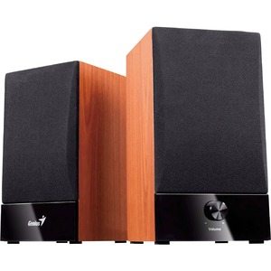 Genius Stereo Wood Speakers
