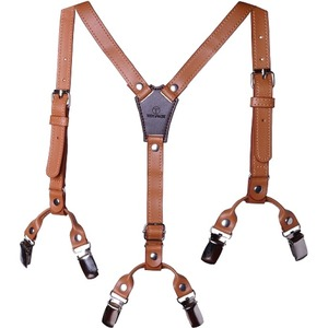 Troy James Boys Boys Brown Premium Suspenders 3-6yr Old / Mfr. No.: Suspr1-O3