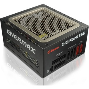 Enermax Digifanless Eps12v 80+ Full Mod Active Pfc Single/Mult / Mfr. No.: Edf550awn