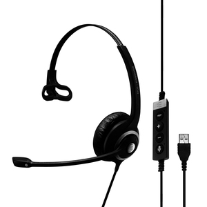 Single-Sided Pro Comm Headset W/ USB and Mic Skype For Business / Mfr. No.: 506482