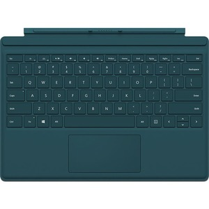 Sruface Pro4 Type Cover Teal / Mfr. No.: R9q-00006