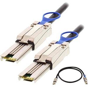 AddOn 2.0m (6.56ft) SFF-8088 External Mini-SAS Male to Male Black Storage Cable