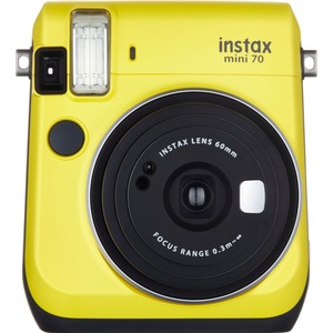Instax Mini 70 Canary Yellow Higher Quality Images Selfie Mo / Mfr. No.: 16496122