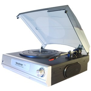 Multimedia Turntable Syst Stereo W/ 2Speakers / Mfr. No.: Bluetooth-17tb