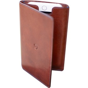 Leather Wallet IPhone 6/6s Plus Case By Danny P. In Dark Brown / Mfr. No.: Wc6ppt