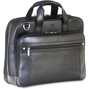 Mancini Double Compartment Briefcase