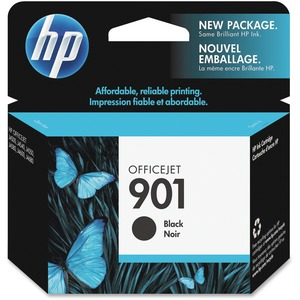4pk Officejet 901 Black Ink Cartridge / Mfr. No.: Cc653an#140-Kit