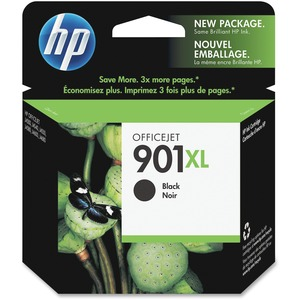 4pk Officejet 901xl Black Ink Cartridge / Mfr. No.: Cc654an#140-Kit