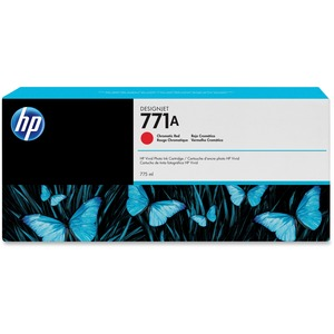 10pk 771a Chromatic Red Ink Cartridge 775ml / Mfr. No.: B6y16a-Kit