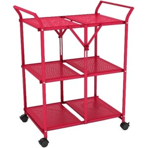 Dar Folding Cart Red Folds Flat Casters For Easy Moving / Mfr. No.: 38436146