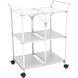 Dar Folding Cart White Folds Flat Casters For Easy Moving / Mfr. No.: 38436145