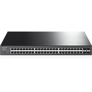 48-Port Gigabit Smart Poe Switch With 4 Sfp Slots / Mfr. No.: T1600g-52ps