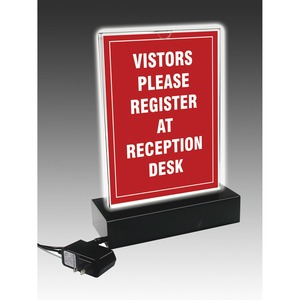 Aristic LED LIGHTED STAND-UP T-SIGN