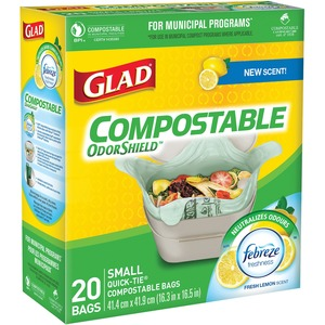 Garbage Bags Compost Sm 20/box