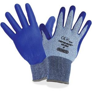 Gloves Med Blue 6/pkg Defensor