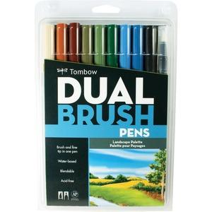 Tombow Markers Dual Brush Landscape 10/set