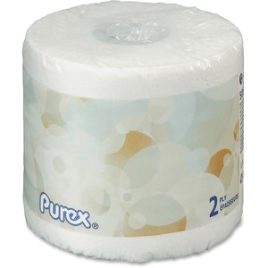 Purex® Bathroom Tissue 2-ply 506 sheets per roll 60 rolls/ctn