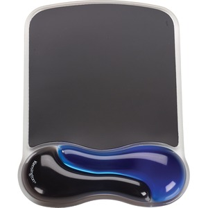Duo Gel Wave M Wrist Rest Blue For Mouse / Mfr. No.: K62401am