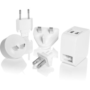 Dual USB Charger Adapter Plugs Total 4.2a / Mfr. No.: Ls7ad