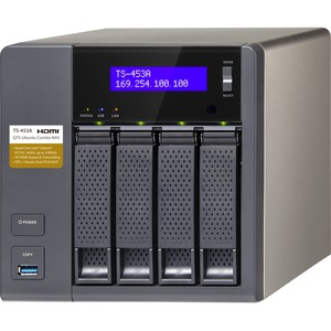 Ts453a 8gb Ram 4bay Prof Grade NAS Intel Quadcore 16ghz CPU / Mfr. No.: Ts-453a-8g-Us
