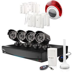 8-Channel 960h Video Recorder 4xpro-735 Cameras With Alarm Ki / Mfr. No.: Swvak-834254d-Us