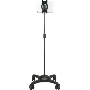 Universal Tablet Mobile Floor Stand 7-10in Tablets Bk / Mfr. No.: Us-2123rb