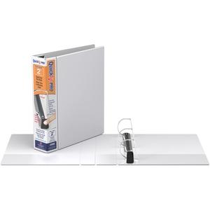 "Davis Group QuickFit® PRO HD Single Touch Pin-Lock® View Binders 2"" White"