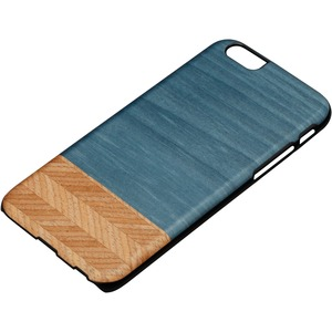 Slim Case Denim Veneer Wood Specie Bolivar Dyed For IPhone / Mfr. No.: M1464b